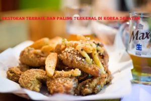 Restoran Terbaik Dan Paling Terkenal di Korea Selatan