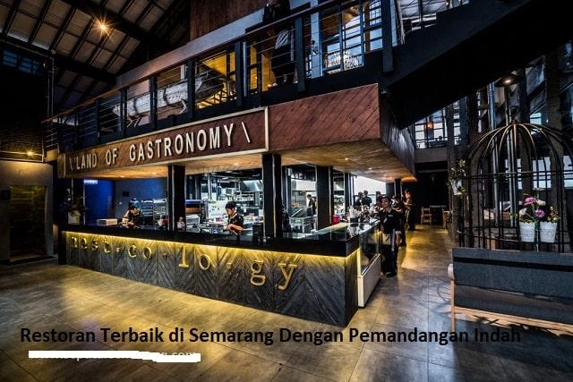Restoran Terbaik di Semarang Dengan Pemandangan Indah